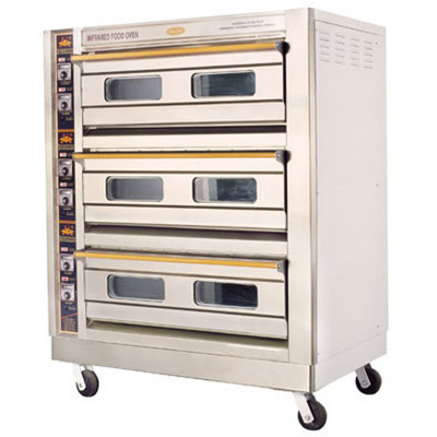 三层六盘烤箱