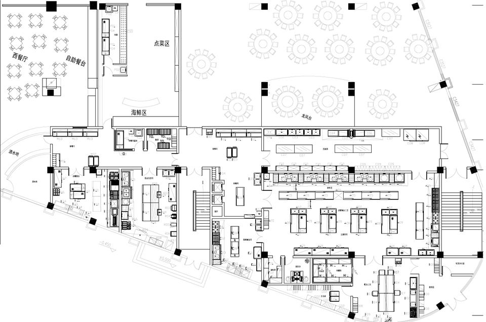 宾馆厨房设备设计方案