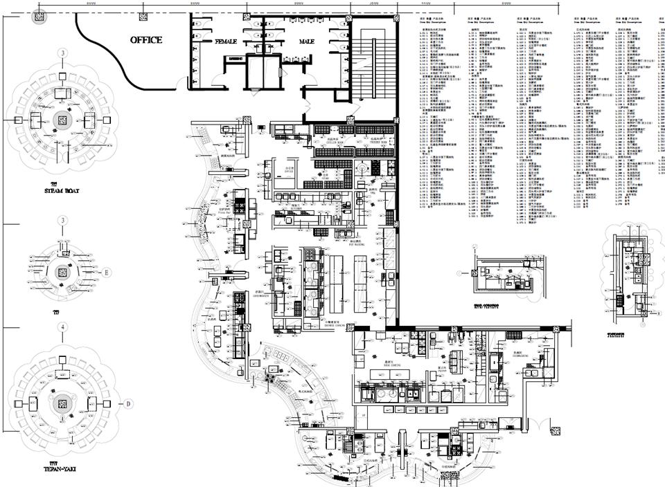 酒店厨房设备设计方案