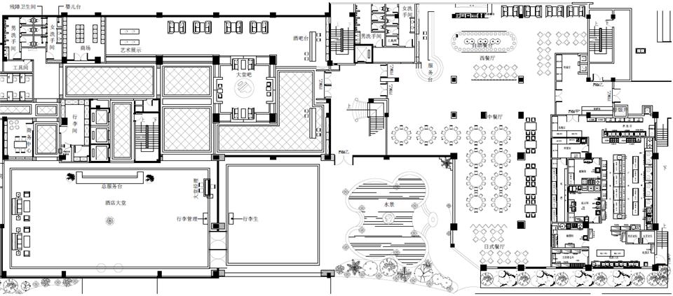 酒楼冠亚体育rb88设计方案
