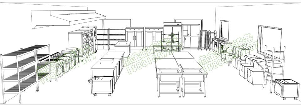 学校厨房设备设计方案